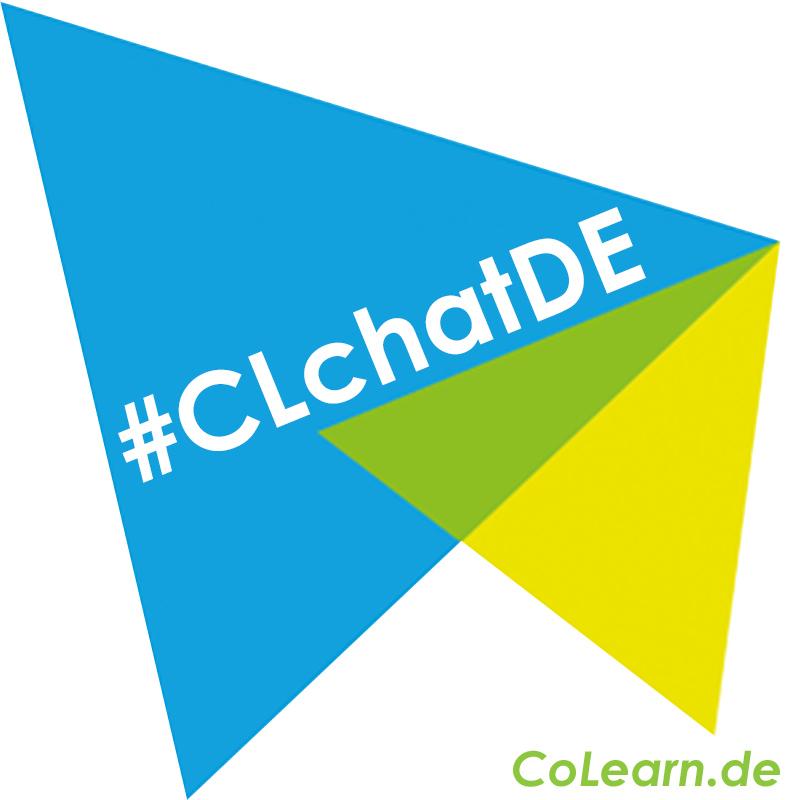 Logo des Twitterchats CLchatDE der colearn.de Community